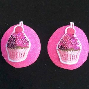 Accessories - Pasties rave festival nipple covers smiley cupcake